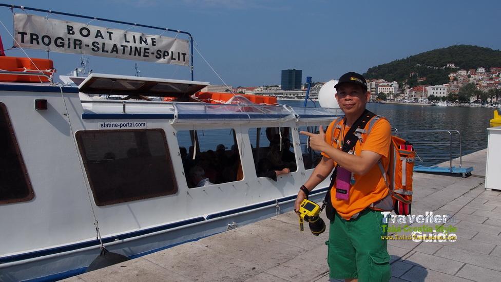 BuraLine Taxi boat : Split - Slatine - Trogir