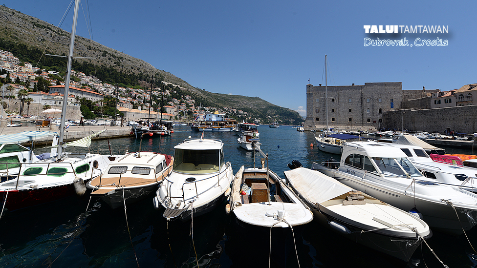 A Lot of boat @ Dubrovnik, Croatia