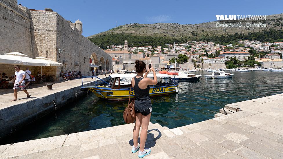Old City of Dubrovnik, World Heritage Site, Croatia.