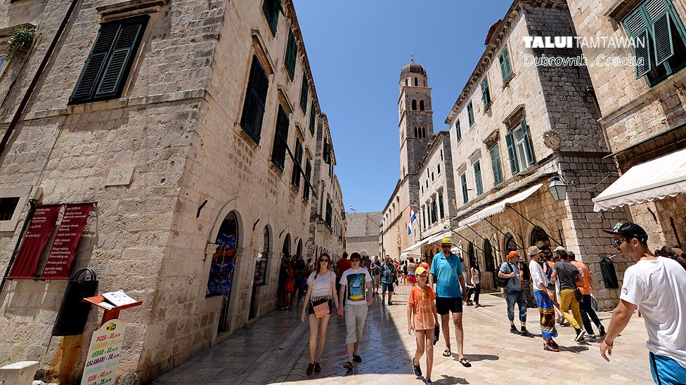Inside the old City of Dubrovnik, Dubrovnik, Croatia