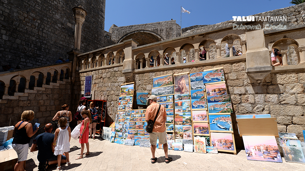 In side Old City of Dubrovnik, Croatia