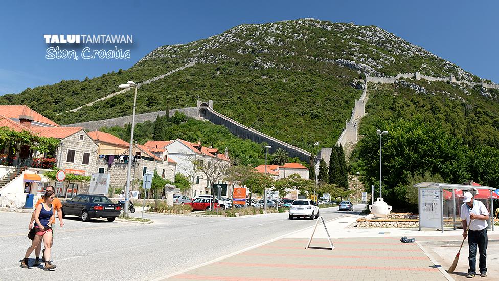 Ston, Croatia.