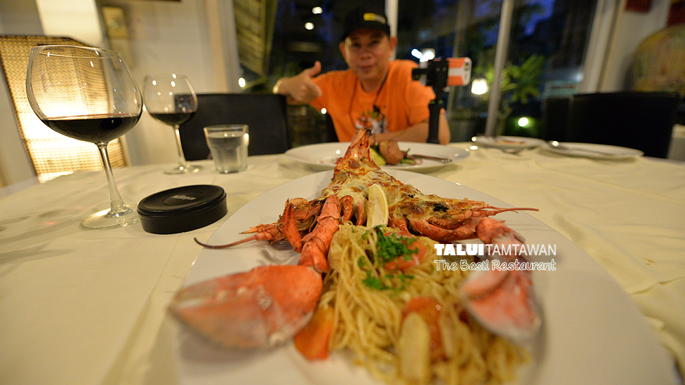 Talui Dinner Style : Canadian Lobster @ The Besil