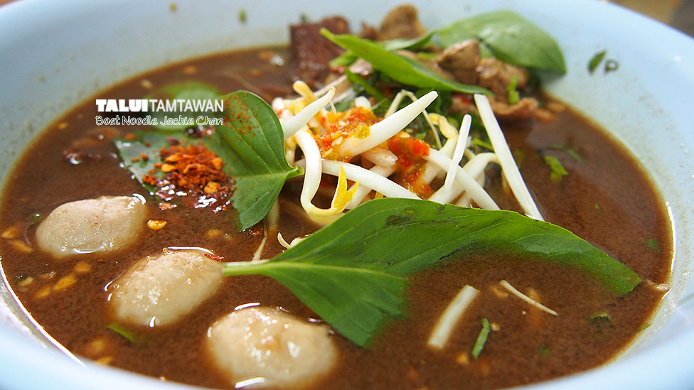 Boat Noodle Jackie Chan @ Hatyai
