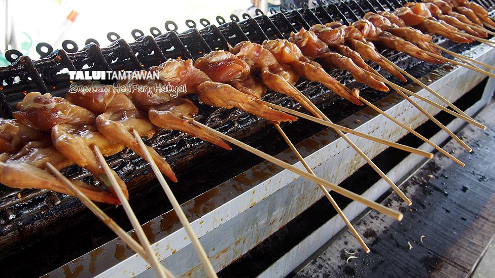 ปีกไก่ย่าง @ ร้านส้มตำหัวพานหาดใหญ่ ตะลุยตามตะวัน ยืนยันความอร่อย ; Somtum HauPan, Hatyai : TaluiTamtawan.Com Approved