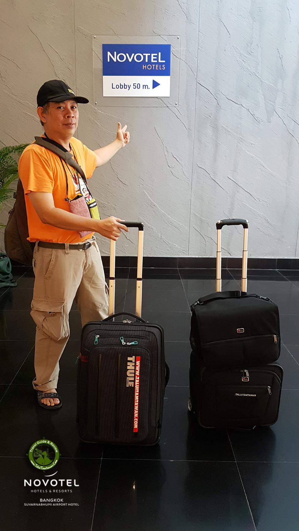 ในฐานะ นักเดินทาง ท่องโลก หัวใจ นักสิ่งแวดล้อม เดินครับ ทาง Walkway ไปสนามบิน