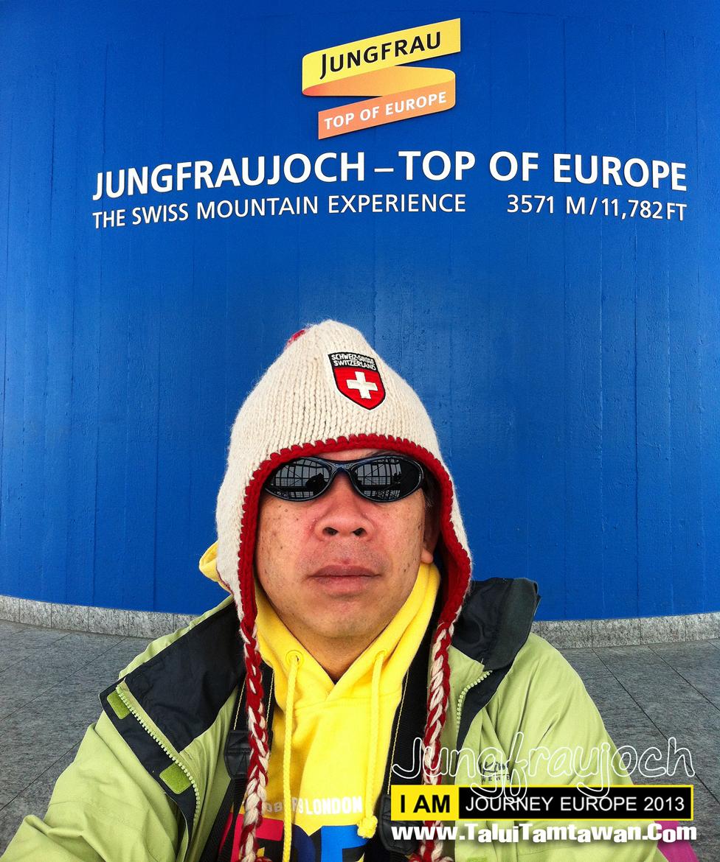 Jungfraujoch Top of Europe ในที่สุด ก็มาถึงจนได้ครับ อยู่ภายในอาคาร หายใจไม่ค่อยออกครับ