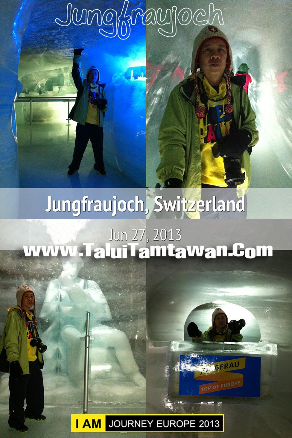 ในถ้ำเส้นทางเดินเขาทำเป็น one way ครับ มาถึงอุโมงค์น้ำแข็งแกะรูปต่างๆ กล้อง ยังทำงานได้ดีครับ