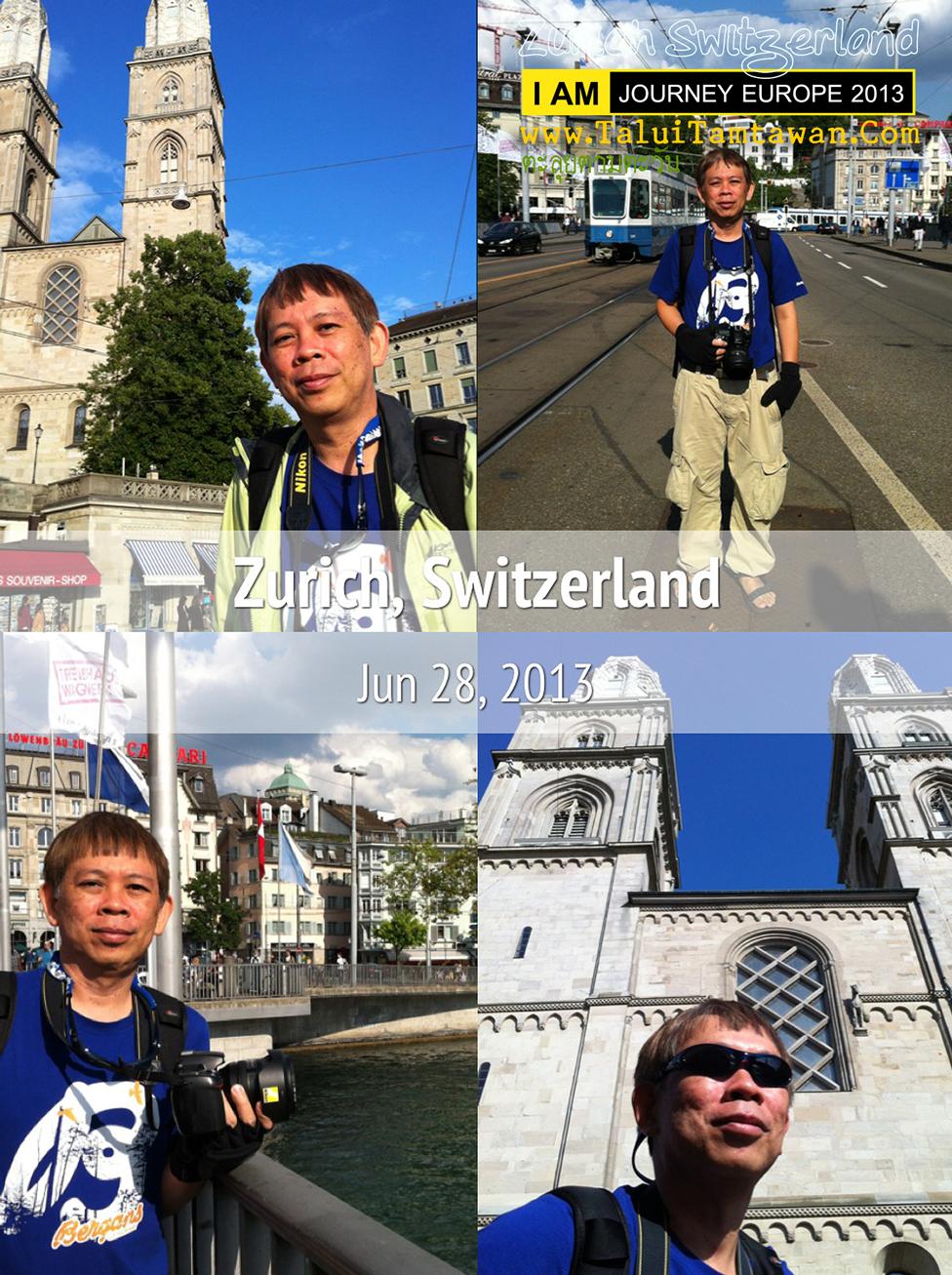 Walking in Zurich : ใช้เวลาเต็มที่กับ การเดินชมเมืองและบันทึกภาพมาฝากครับ